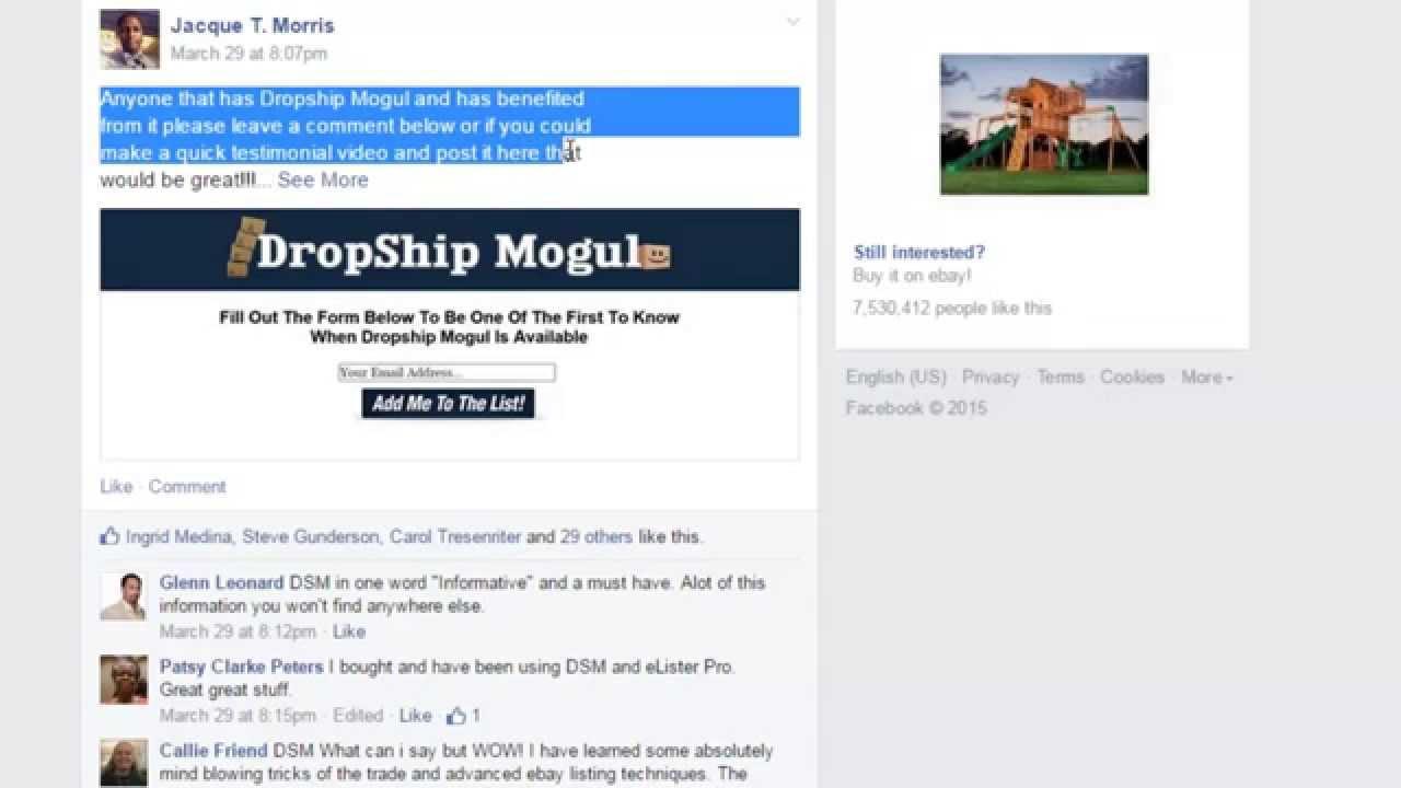 Dropship Mogul Reviews